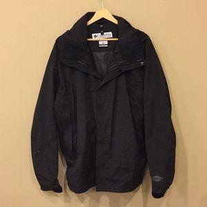 Columbia windbreaker Black Jacket